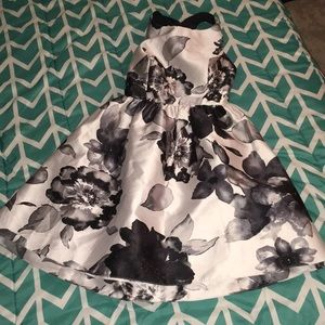 Bow back party dress