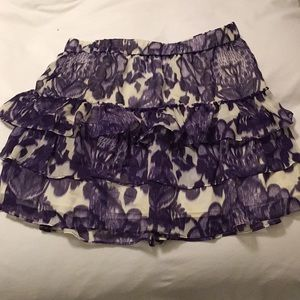 Express ruffle skirt