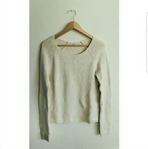 Old Navy Beige Knit Sweater