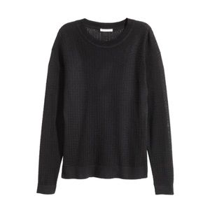 h&m • cable knit sweater
