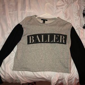 Baller crop top