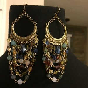 Jewelry - Sexy multi color earrings