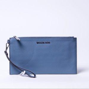 Michael Kors wristlet zip wallet