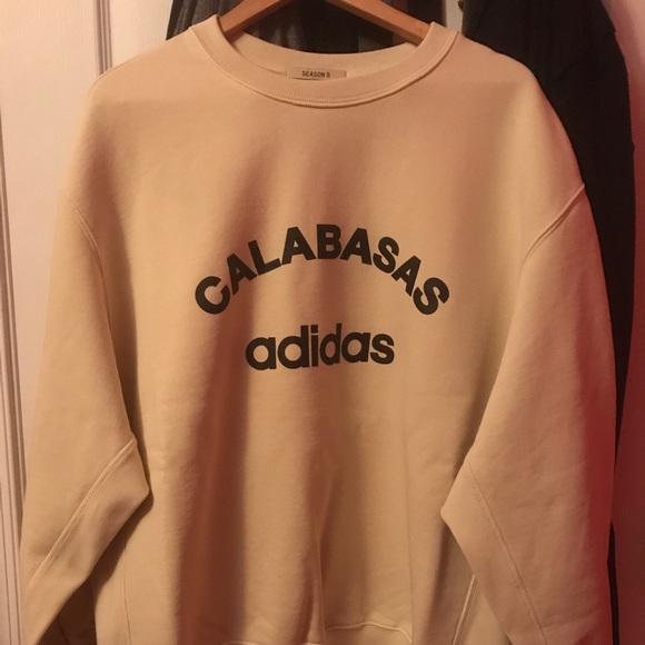 ffc8044b2 Yeezy Season 5 Calabasas sweatshirt