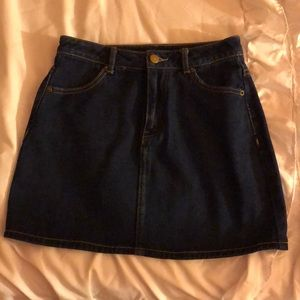 Denim skirt wore once