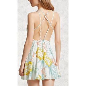 Forever 21 pretty floral sundress