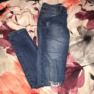 Forever 21 denim washed jeans