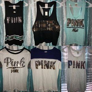New Victoria Secret pink clothes