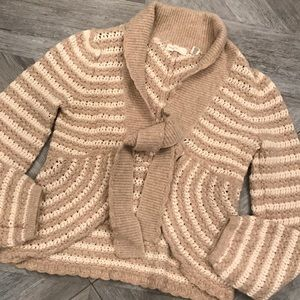 ANTHROPOLOGIE SLEEPING ON SNOW sweater. M