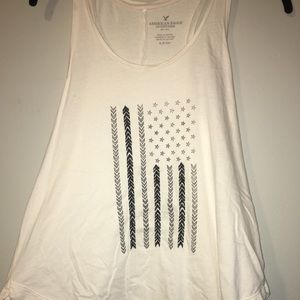 White Flag American Eagle Tank Top