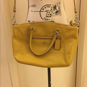 Coach 34340 Pebbled Leather Convertible Bag NWT