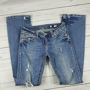 Miss Me Jean's Boot Cut Size 27