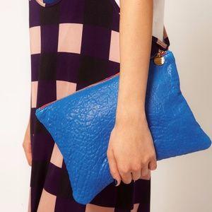 Clare Vivier Clutch Royal Blue