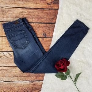 Paige Dark Wash Skyline Skinny Jeans 28x30