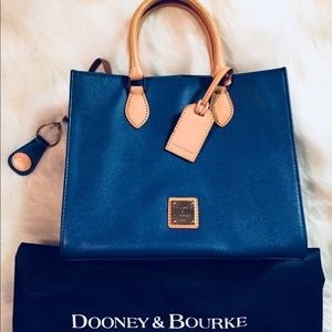 Blue Dooney and Bourke handbag