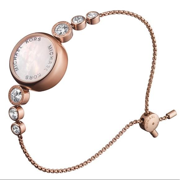 d108a2e4b273 BNIB Michael Kors VarickAccess Smartwatch RoseGold
