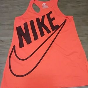 Nike red tank top sz XL