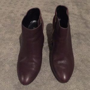Maroon KATE SPADE SATURDAY bootie shoes size 8
