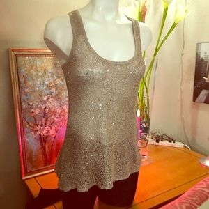 Willow & Clay•Sequin tank top