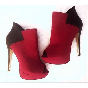 Madison Stiletto Booties By ShoeDazzle