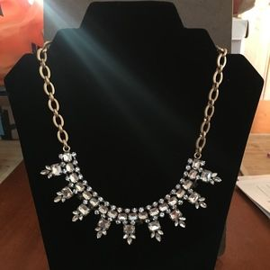 J CREW RHINESTONE STATEMENT NECKLACE