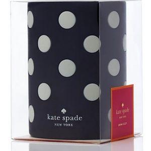 Kate Spade Let's Chill Drink Cozy - Black Dot