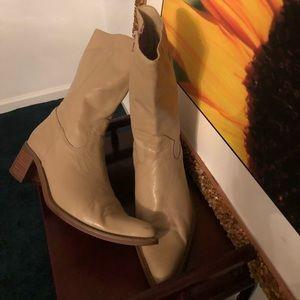 Women genuine leather boots 👢notice nics plz