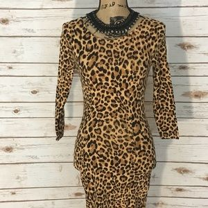 H&M Cheetah Dress