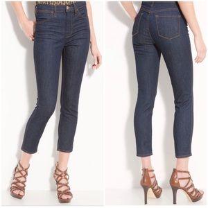 J Brand Jeans High Rise Kori Capri Ankle Pure 29