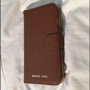 Michael Kors IPhone 7 Leather Case