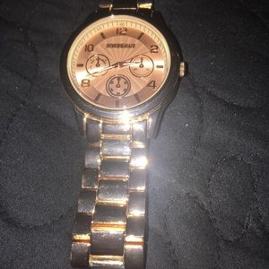 **Rose Gold Watch**