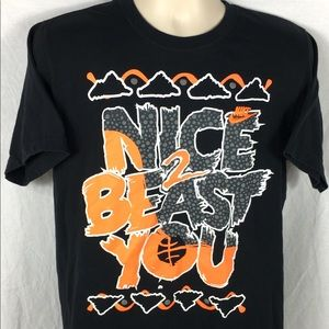 Nike 'Nice To Beast You' Men's Embroidered T-Shirt