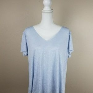 Project Social T Urban Outfitters Baby Blue Tshirt