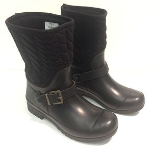 Sperry Top Sider Rubber Rain Boot Quilted