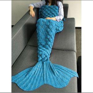 New Mermaid Blanket Blue Adult