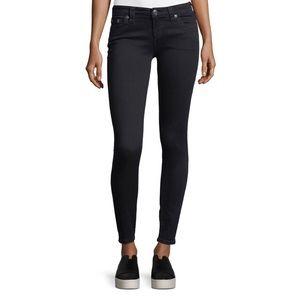 True Religion Faded Black Skinny Jeans