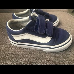 Authentic custom dodger blue LA vans