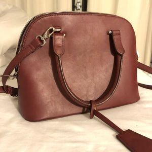 NWOT Forever 21 burgundy maroon purse bag