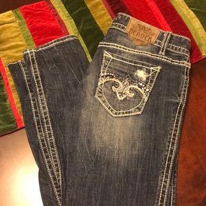 Express ReRock skinny jeans Sz 6