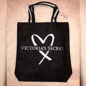 EXCLUSIVE Victoria's Secret X Balmain Glitter Tote
