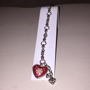 Brighton Bracelet with Red Heart.