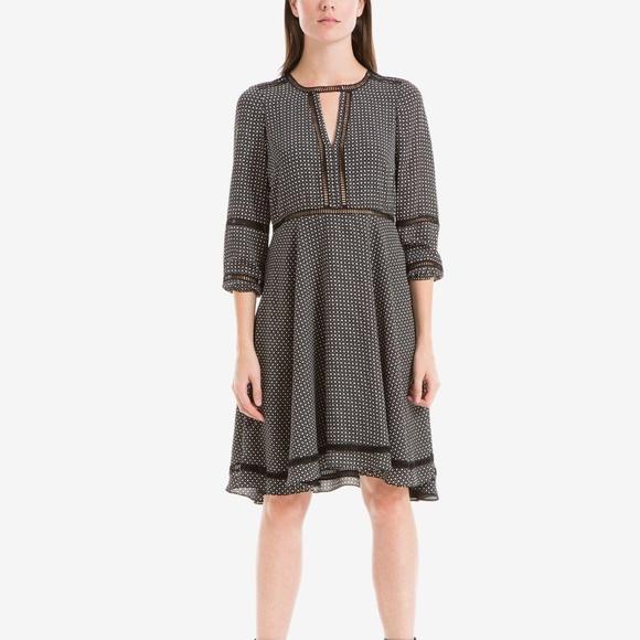 af9107aeb7eae9 Max Studio Dresses   Printed Crochettrim Dress   Poshmark