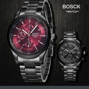 2016 Men casual luxury steel wrist watch