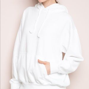 White Christy Hoodie