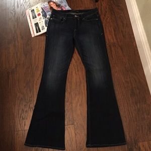 Express Slim Flare Denim 8R