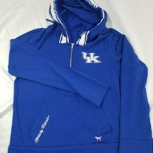 VS Kentucky University Wildcats Half Zip Hoodie