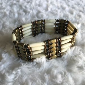 Beautiful Bone Stretch Bracelet