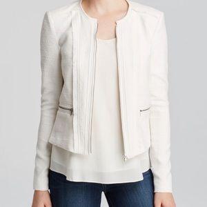Rebecca Taylor white maze jacket