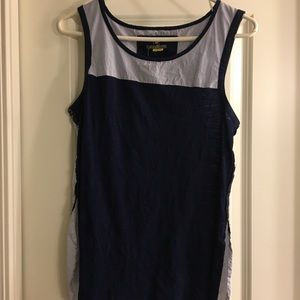 Anthropologie Little Yellow Button tank