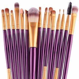Break-up to Make-up! Plush purple brushes!